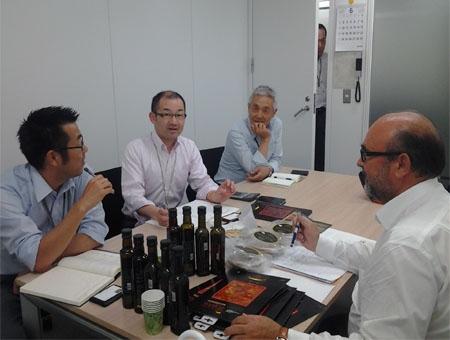 Reunion con Empresarios Japoneses en Tokio